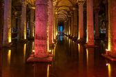 Basilica cistern, Istanbul — Stock Photo
