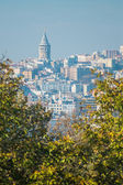 Galata tower, Istanbul — Stock Photo