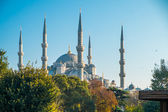 Mezquita azul de estambul — Foto de Stock