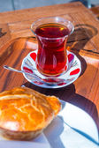 Turkish Cay tea — Stock Photo