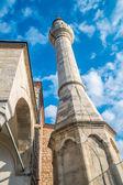 Mosque minaret, Istanbul — Stock fotografie