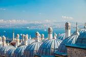 Süleymaniye mosque, Istanbul — Foto de Stock
