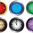 Vetorial Stock : Clocks