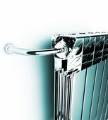 Premise radiator — Stock Photo