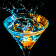 Colourful cocktail — Stock Photo