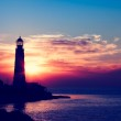 Lighthouse on sunset — Stock Photo #13734092