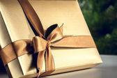 Dárková krabička — Stock fotografie