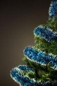 árbol festivo de año nuevo — Foto de Stock