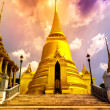 "Famous Bangkok Temple - ""Wat Pho"" — Stock Photo"