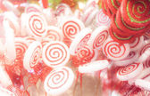 White and red candy  — Stock Photo