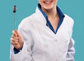Miła kobieta lekarz — Zdjęcie stockowe