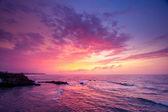 Ocean on sunset — Stock Photo