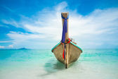 Long boat — Stock Photo