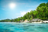 Landscape of tropical island  — Stock Photo