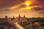 Kamianets-Podilskyi castle  — Stock Photo