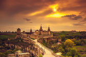 Kamianets-Podilskyi castle — Stock Photo