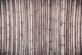 Bamboo shade — Stock Photo
