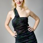 Woman in smart dress — Stock Photo #14780553