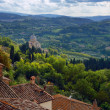 Tuscan landscape - Stock Photo