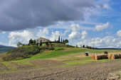 Tuscan rural landscape — Stock Photo