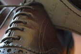 Brogues boots — Stockfoto