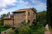 Casa toscana — Foto Stock