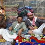 Постер, плакат: Street market in Yemen