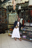 Jewellery shop in Yemen — Stock Photo