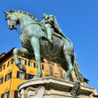 Statue of Ferdinando I - Stock Photo