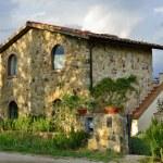 Tuscan house — Stock Photo