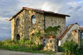 тосканский дом — Стоковое фото