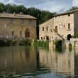 Stock Photo: Old thermal baths in Bagno Vignoni