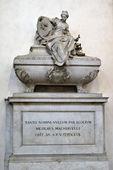 Tomb of Niccolo Machiavelli — Stock Photo