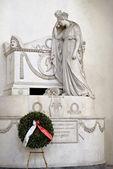 Tomb of Victorio Alferio Astensi — Stock Photo