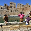 Yemen, Habbabah village — Stock Photo