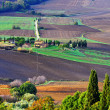 Tuscan landscape — Stock Photo