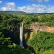 Chamarel falls — Stock Photo
