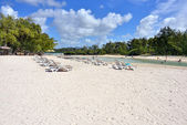 Beach on Serfs island — Stockfoto