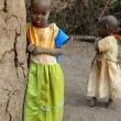 Masai children — Stock Photo