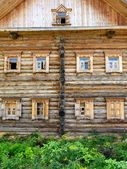 Russian house — Stock Photo