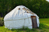 Nomadic Yurt — Stock Photo