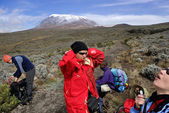Kilimanjaro summit — Stock Photo