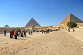 Pyramid in Giza — Stock Photo