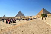 Pirâmide de gizé — Fotografia Stock