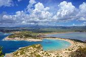Voidokilia, Messinia landscape, Greece — Stock Photo