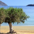 Methoni beach — Stock Photo