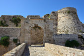 Methoni castle — Stock Photo