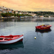 Marina of Koroni — Stock Photo