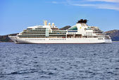 Luxury cruise ship Seabourn Odyssey — Stock Photo