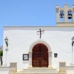 Church in Playa Blanca — Stock Photo